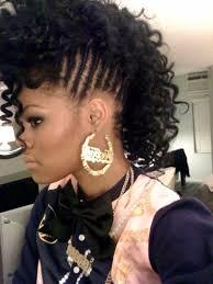 Black Hairstyles Mohawks Black Faux Hawk Black Hairstyles Hair Pinterest See More