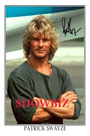 17 84 aud patrick swayze large signed autograph poster photo print great gift ebay collectibles