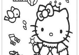 Hello Kitty Da Colorare Per Bambini Con Disegno Di Hello Kitty