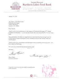 Thank You Letter For Food Donation Thank You For Contribution Email Jamesgriffin Co