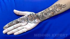 New Easy And Simple Arabic Henna Design For Hands Step By Step Arabic Henna Designs For Palm