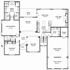 7 Bedroom 5 Bathroom House Floor Plan New Gallery Of Bedroom Bath Floor  Plans Home House