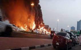 7 معلومات لاتعرفها عن انفجار دبي في ميناء جبل علي