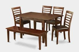 6 Piece Small Kitchen Table Set Table And 4 Kitchen Chairs Kitchen