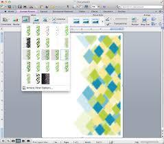 Ms Word Page Designs Portfolios Mrs Esch