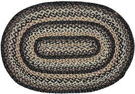 black jute rug black forest braided jute rug oval black jute rug 8x10