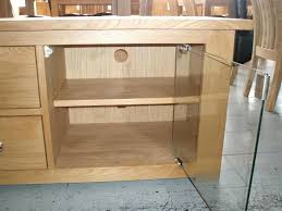 oak tv stands with glass doors wooden cabinets with glass doors photos oak tv stand glass