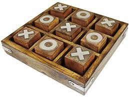 Wooden Naughts And Crosses Game Wooden Tic Tac Toe Game Box PriceStage 26