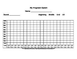 Articulation Accuracy Chart Freebie