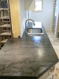 con troweled over plywood and sealed concrete countertop sealer tuff duck reviews