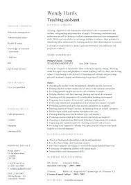 Educational Assistant Sample Resume Nfcnbarroom Com
