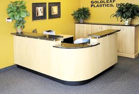 office lobby home design photos. Image Of: Lobby Desk Furniture Shaped Office Home Design Photos
