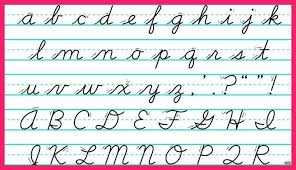 uppercase cursive letters number names worksheets uppercase letters cursive free within all the cursive letters uppercase and lowercase