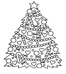 Small Picture Detailed Christmas Tree Coloring Pages Christian Coloring Pages