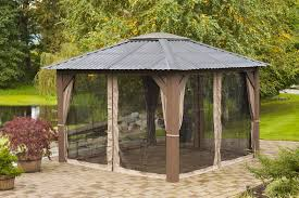 backyard structures gazebo
