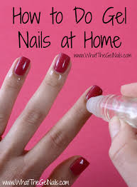 How Do You Dry Gel Nail Polish Without Uv Light How To Do Gel Nails At Home