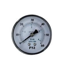 "Pool Central Back Mount Pressure Gauge 0-60 PSI <b>2.5</b>"" (<b>60mm</b> ..."