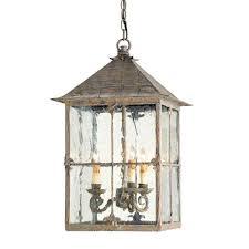 currey company lighting fixtures. Currey \u0026 Company Lighting Bellamy Lantern 3-light; Light Fixtures
