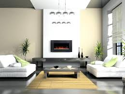 ... Modern Fireplace With Hidden Tv Above Electric Fireplaces And Surrounds  Pinterest ...