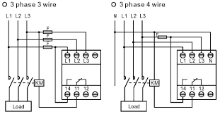 difference between wiring of 3 phase 3 wire and 3 phase 4 wire difference between wiring of 3 phase 3 wire and 3 phase 4 wire