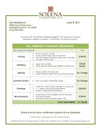Lawn Mower Repair Invoice Template Sample Care Business Plan Mowing