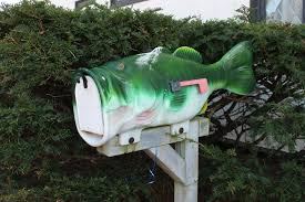 cool mailboxes for sale. Wonderful Mailboxes Furniture Green Fish Mailbox With White Door On Grey Wooden Bar Base  Creative Ideas On Cool Mailboxes For Sale X