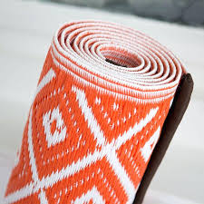 plastic outdoor rugs alluring rug in orange white diamond garden mat for camping canada kmart plastic outdoor rugs