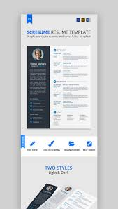 20 Modern Resume Templates With Clean Elegant Cv Designs 2019