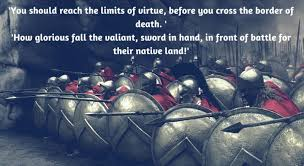 Spartan Quotes Gorgeous Famous Spartan Quotes