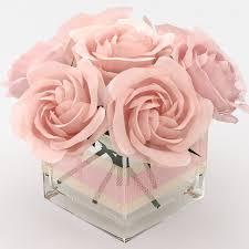 bouquet of roses 3d model 3d