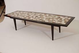 Mosaic Tile Top Coffee Table 2 Images