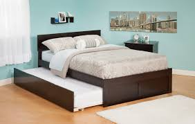 queen platform bed with trundle. Brilliant With Platform Bed With Trundle Design In Queen With U