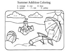 If your little ones are learning addition, these are the perfect little worksheets to help them have fun with math. Color By Number Addition Best Coloring Pages For Kids