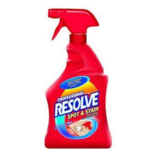 professional resolve carpet spot stain remover