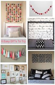 exceptionnel easy diy bedroom wall decor diy wall decor ideas for bedroom fascinating easy d on