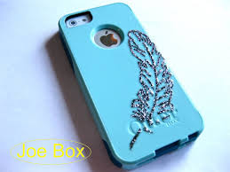 Iphone 5s Case Blue : Iphone otterbox caseglitter case baby blue