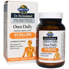 garden of life dr formulated probiotics once daily 30 billion 30 vegetarian capsules