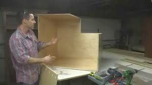 Building A Corner Cabinet Kitchen Cabinets Building A Lazy Susan Youtube