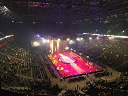 seating view for manchester arena section 207 row h seat 18