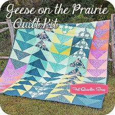 210 best flying geese images on Pinterest | Embroidery, Board and ... & Geese on the Prairie Quilt Kit<br/>Featuring Tucker Prairie by One Canoe Adamdwight.com