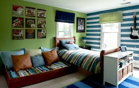 A trundle bed is a great solution when space is at a premium.