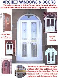 open arched double doors. Double Storm Doors Wide Range At And Arched Head Specialists Glasgow . Open