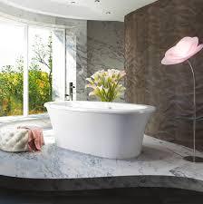 bainultra balneo freestanding air jet bathtub for your modern bathroom