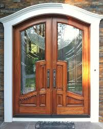 Front Doors Arched Doors French Doors Exterior Doors Double Doors - Custom wood exterior doors