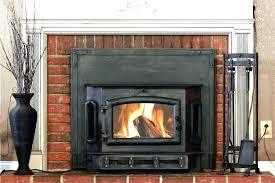 woodburning fireplace insert wood burning stove insert installation cost woodburning