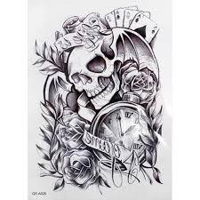 Tetování Lebka Na Ruku