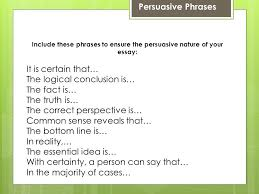 steps for writing a staar persuasive essay step the  9 persuasive