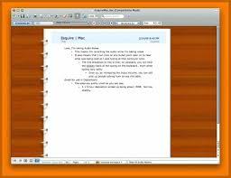 Word Notebook Template Under Fontanacountryinn Com
