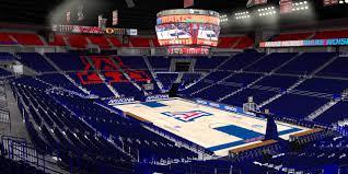 Arizona Mckale Center Seating Chart U Of A Mckale Center Players Charlotte Nc