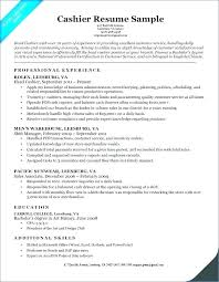 Mcdonalds Manager Resume Resume Template Download Cashier Skills To Classy Cashier Skills To Put On A Resume